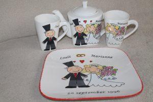 cadeau set voor huwelijk