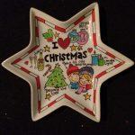 Handgeschilderd bord met thema Kerstmis
