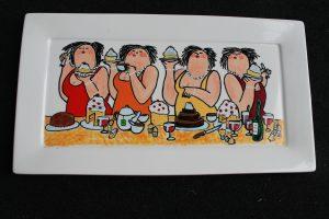 Workshop servies beschilderen Dikke Dames