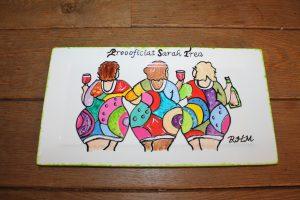 workshop servies beschilderen