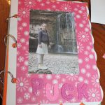 kinderfeest scrapboekje maken bij KreaDiva