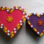 kinderfeest workshop hartjesdoosjes versieren bij KreaDiva