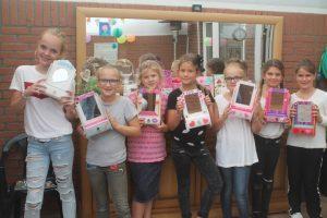 kinderfeest workshop kapspiegeltjes verven en versieren