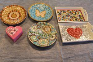 Creatieve workshop mozaieken in Venlo