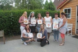 Workshop porselein beschilderen en scrapbook maken in de KreaSchuur