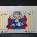 uniek cadeau voor verjaardag 80 jaar