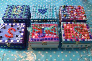 kinderfeest mozaieken