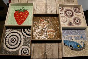 dienblad mozaieken