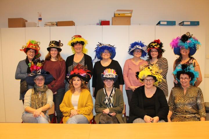 hoeden maken voor carnaval