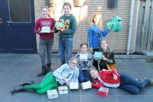 kinderfeest met workshop mozaieken