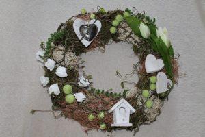 voorjaarskrans maken