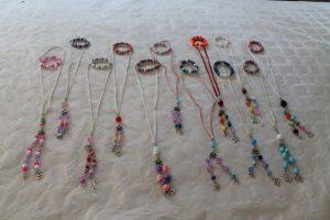 kinderfeest met workshop sieraden maken