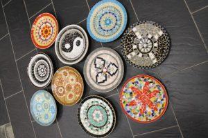fruitschalen mozaieken