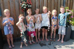 Kinderfeest met workshop zeepketting maken