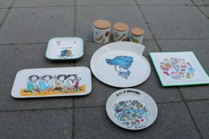 workshop servies beschilderen